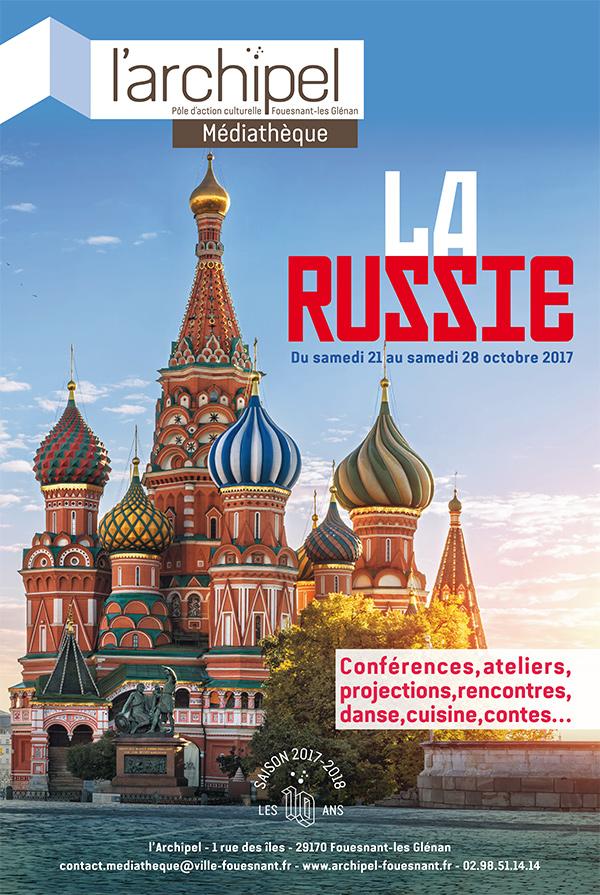 Affiche évènement La russie