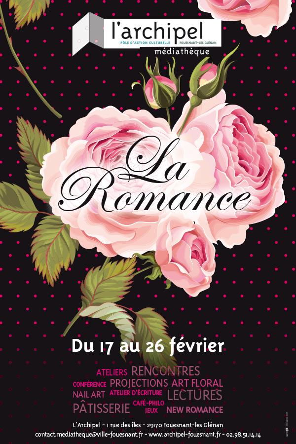Concepton graphique campagne La romance Archipel Fouesnant Les glénan