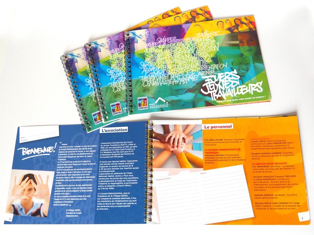 creation-livret-accueil-association-Quimper-realisation-graphique-AgenceR
