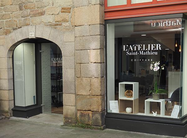 habillage extérieur salon Atelier St Mathieu