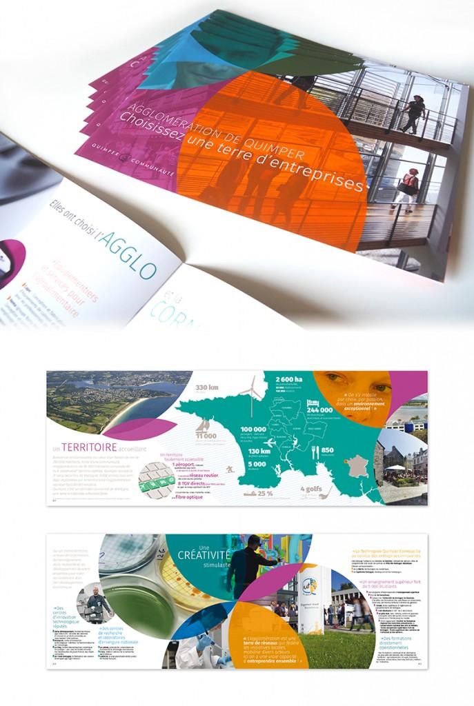 Création graphique Agence R