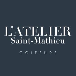 logo du salon de coiffure atelier st mathieu à Quimper
