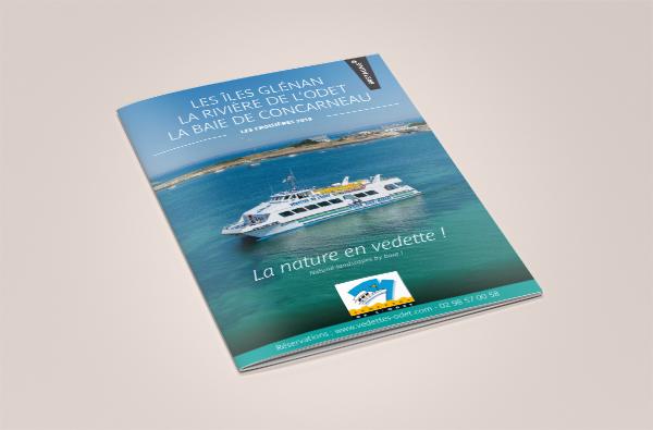 A4 Brochure vedette de l'odet 2018