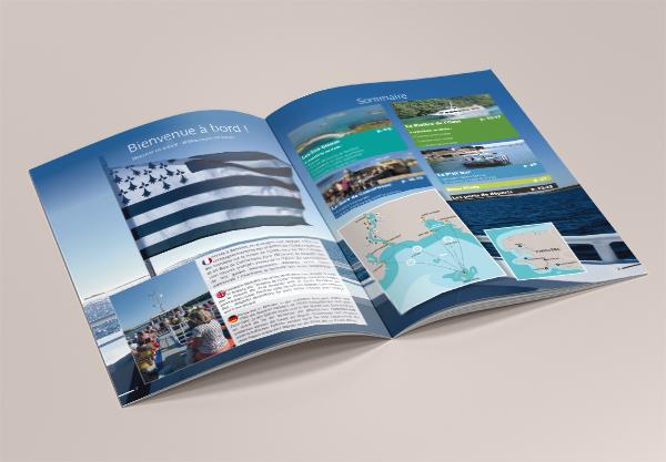 Création des brochures Vedettes de l'odet