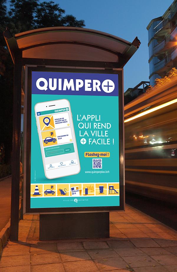 abribus Quimper plus