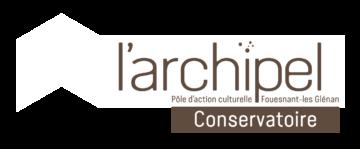 bloc logo archipel conservatoire
