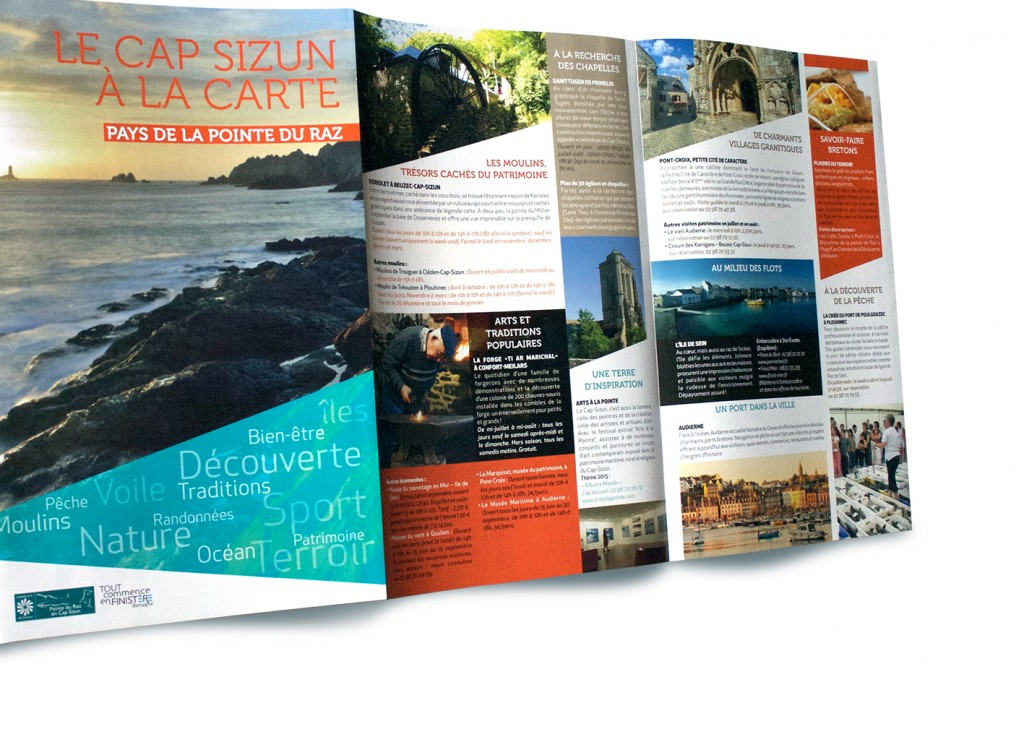 carte touristique Cap-Sizun Pointe du Raz
